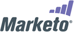 Marketo Logo Eloqua and Marketo Platinum Sponsors at Dreamforce 2010