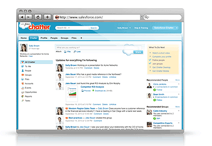chatter index demo Silverpops Salesforce Chatter Integration Available on AppExchange