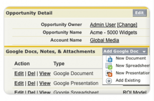 Google App for SFDC11 300x197 Using Google Apps with Salesforce.com