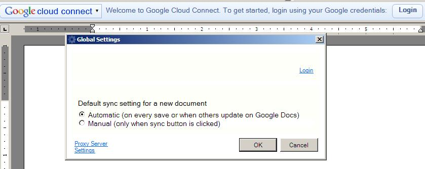 Google Cloud Connect3 Google Cloud Connect Syncs Microsoft Office With Google Docs