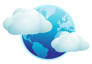Clouds with Globe 300x210 Private Cloud: What is it?