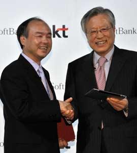 kt softbank KT and Softbank Sign Cloud Joint Venture