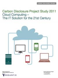 072011cdp cover Cloud Computing Reduces Energy Costs and Carbon Emissions