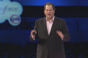 salesforce dreamforce benioff 300x200 Dreamforce 2011: Its All About Social and Community