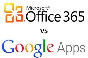 google apps microsoft office 365 300x199 Cloud Wars: Google Apps vs Office 365