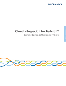 informatica cloud hybrid IT 231x300 Cloud Integration for Hybrid IT   Balancing Business Self Service and IT Control