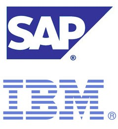 sap ibm logo IBM Teams up With SAP to Offer Global Big Data Services