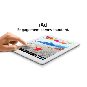 iAd apple advertising square 300x300 Media Ratings Council Sets Standard for Mobile Advertising and Approves iAd
