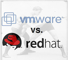 vmware redhat Red Hat and VMware Clash Continues to Simmer