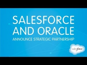 salesforce oracle partnership 300x225 Salesforce and Oracle Partnership: Taking on Internet of Things