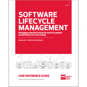 CDW software lifecycle management square 300x300 Software Lifecycle Management   Free CDW Reference Guide