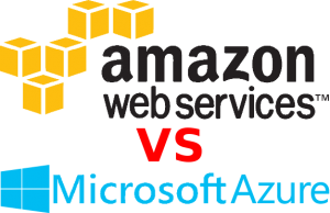 AWS vs Azure 300x194 Microsoft Azure Inching Closer to Amazon Cloud Dominance