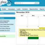 Salesforce Marketing Calendar