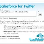 Salesforce For Twitter
