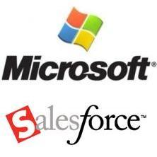 Salesforce vs microsoft